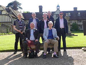 The group celebrates a splendid few days in Kent and Sussex